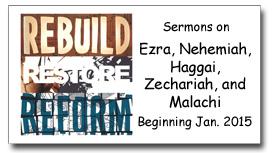 """""""Rebuild, Restore, Reform"""" Sermon Series Graphic"""