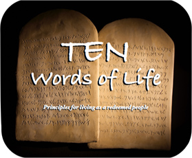 """Ten Words of Life"" Series Graphic"